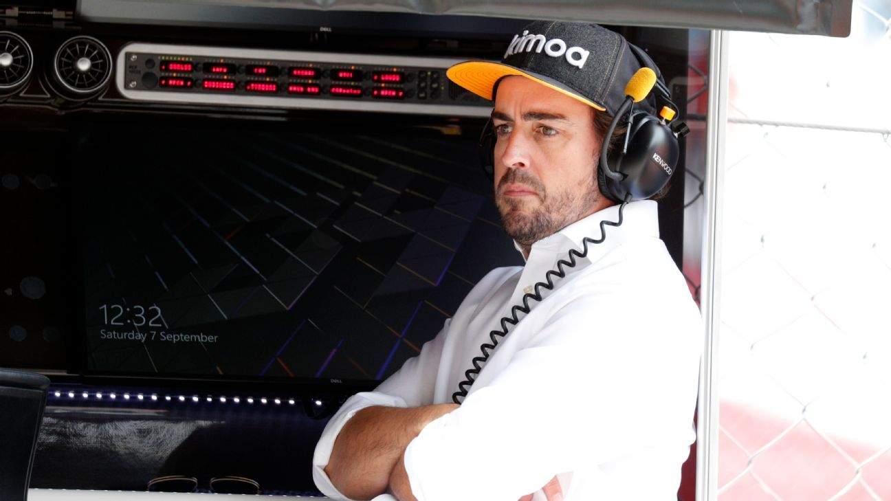Alonso a free agent for Indy after McLaren contract ends