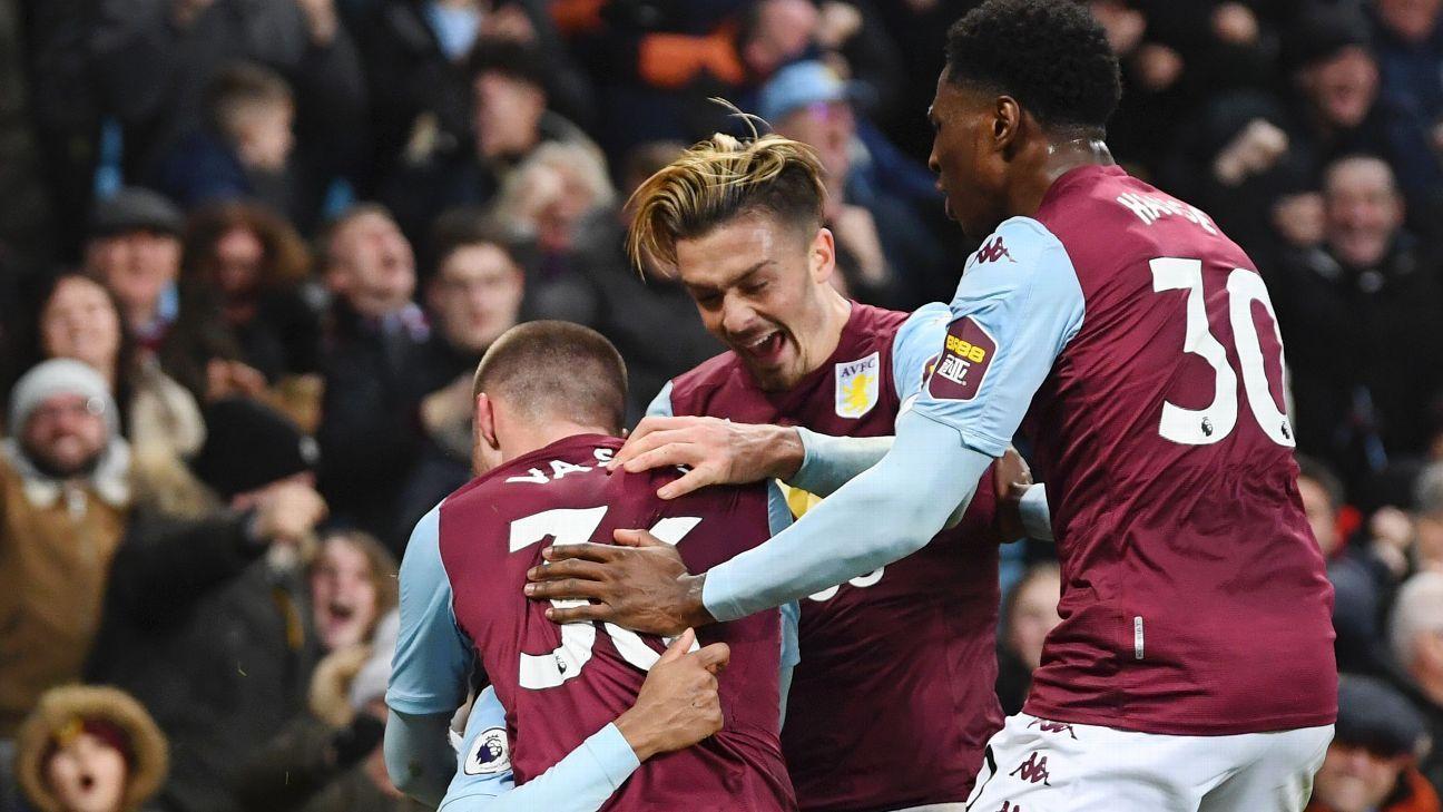 Aston Villa stoppage-time winner dumps Watford back in relegation zone
