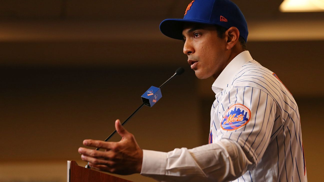 New manager Luis Rojas promises Mets success