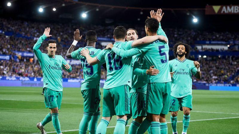 Real Zaragoza Vs Real Madrid Football Match Report January 30