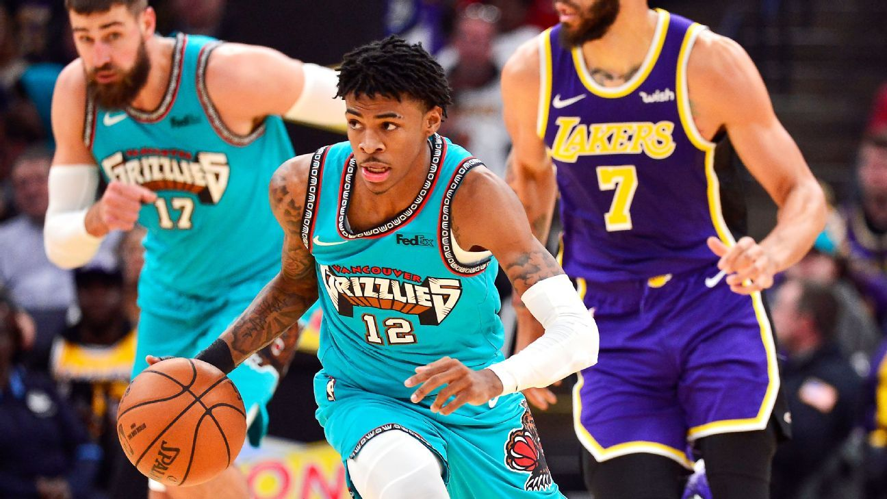 Ja Morant turned the Grizzlies into the NBA's fast and fearless ...