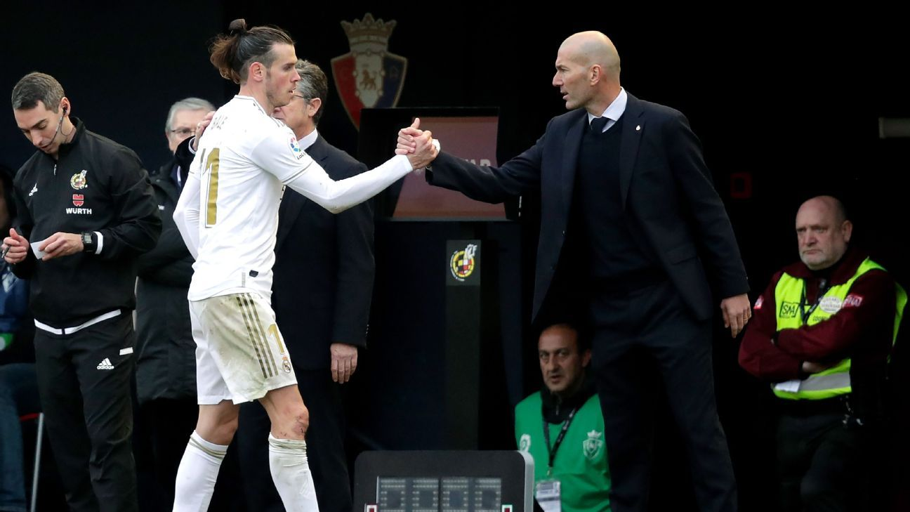 Real Madrid boss Zidane No problems exist with 'important' Bale - ESPN