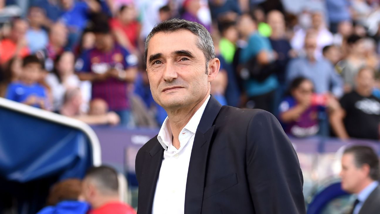 After Barcelona sacking, Ernesto Valverde seems at ease, almost 'free' - ESPN