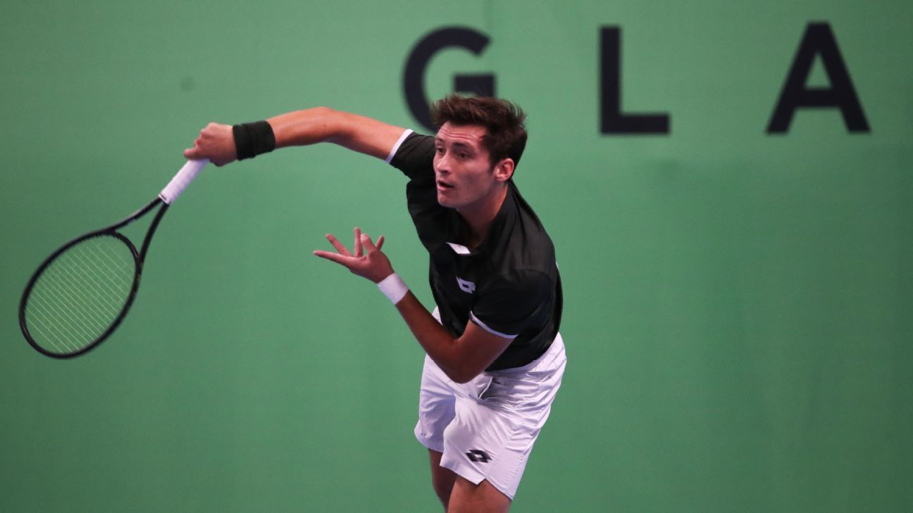 Meet Julian Ocleppo, the tennis player with a Tommy Hilfiger connection