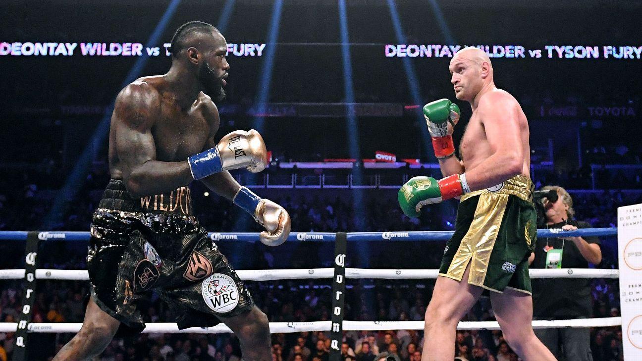 Wilder-Fury II gate sets Vegas heavyweight mark