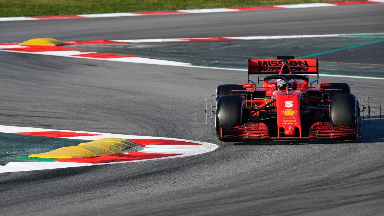LIVE: F1 preseason testing, day three