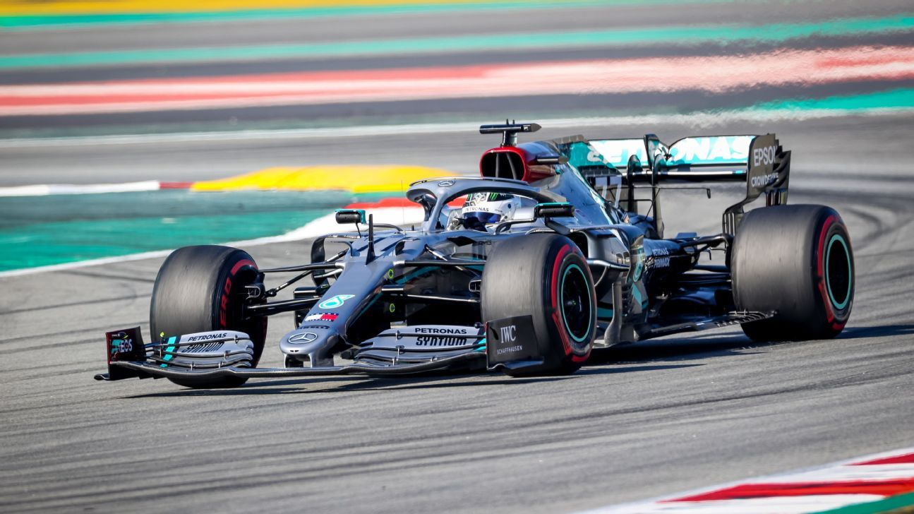 Bottas quickest as Mercedes continues ominous preseason form