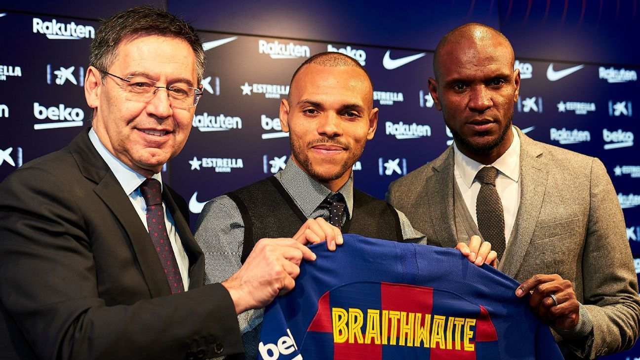 Braithwaite's move to Barcelona is an odd one but the striker's ready to offer what the champions lack - ESPN