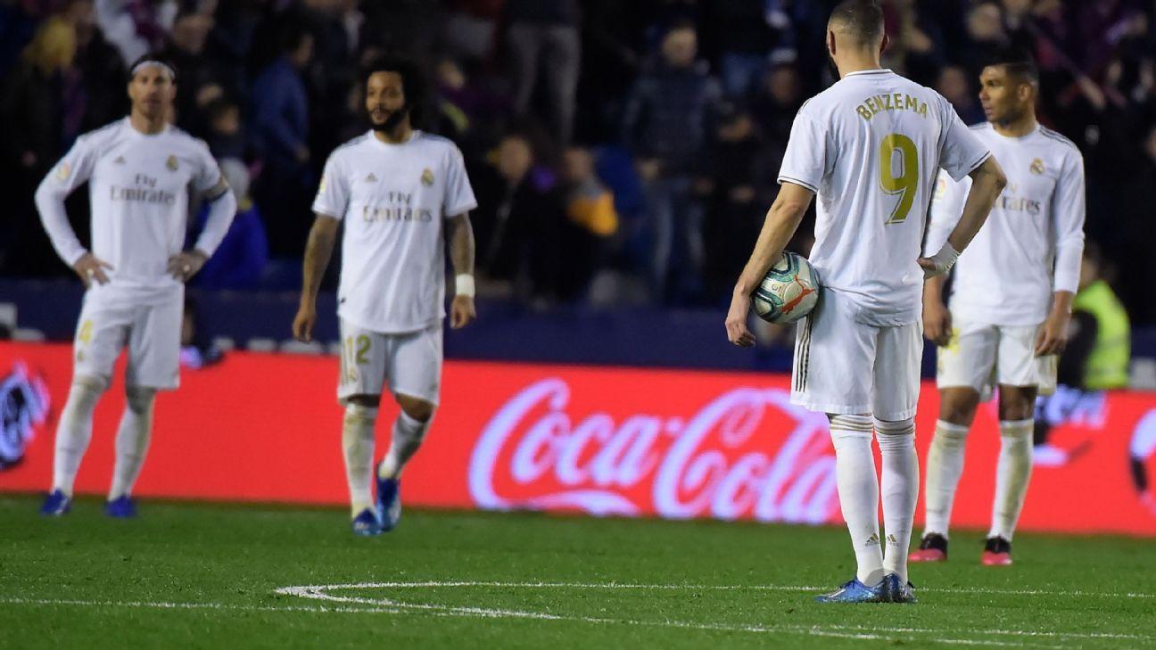 Levante vs. Real Madrid - Reporte del Partido - 22 febrero, 2020 - ESPN
