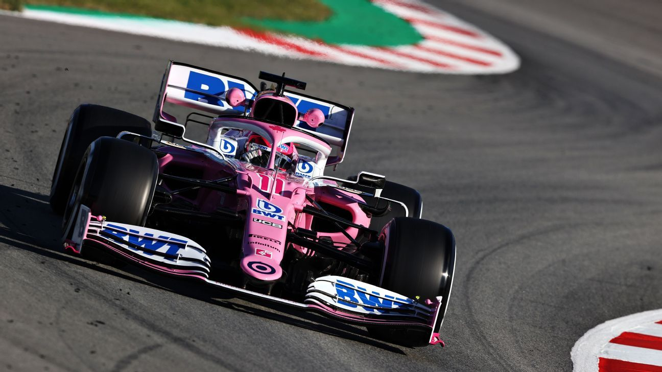 Is the new Racing Point just a pink Mercedes?