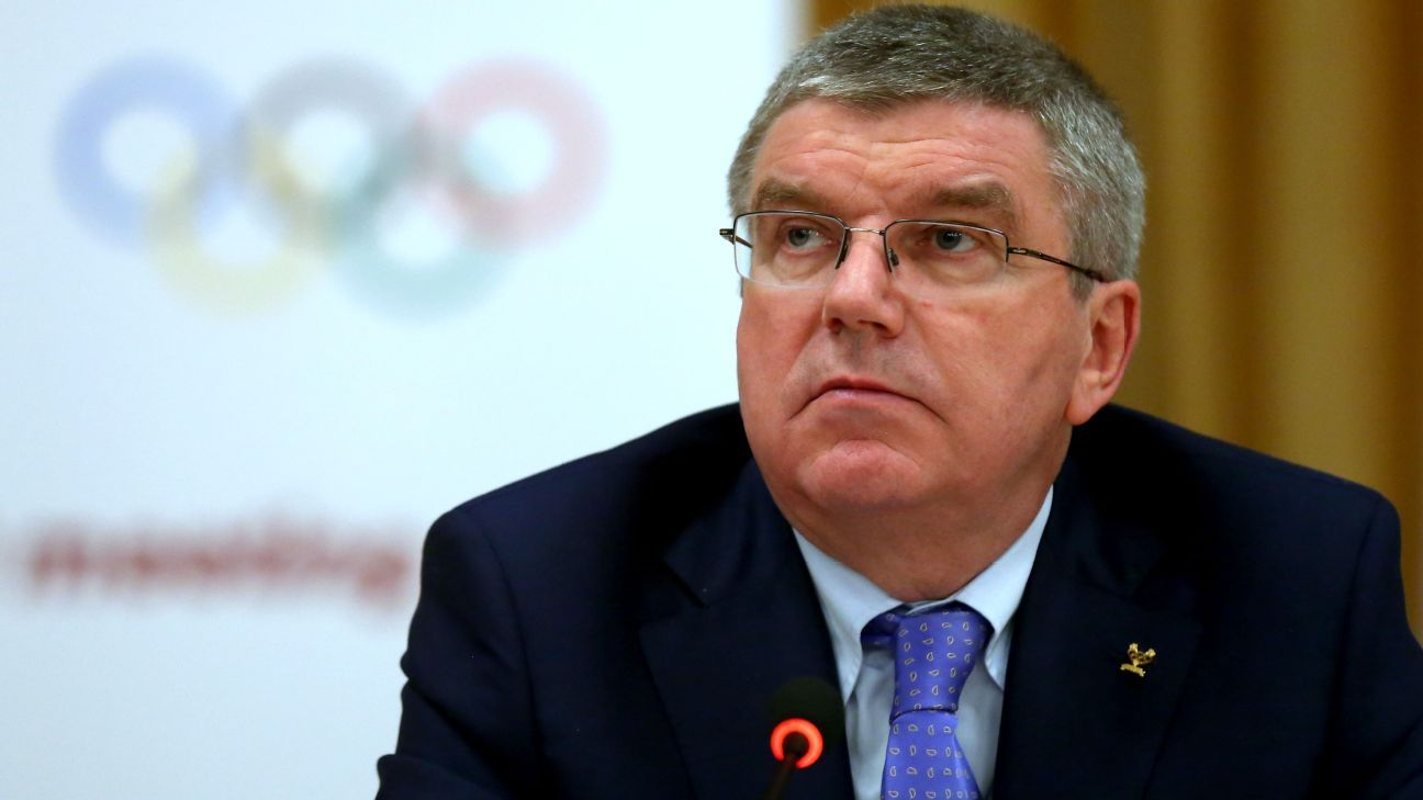 IOC's Bach invokes Trump in Olympic decision