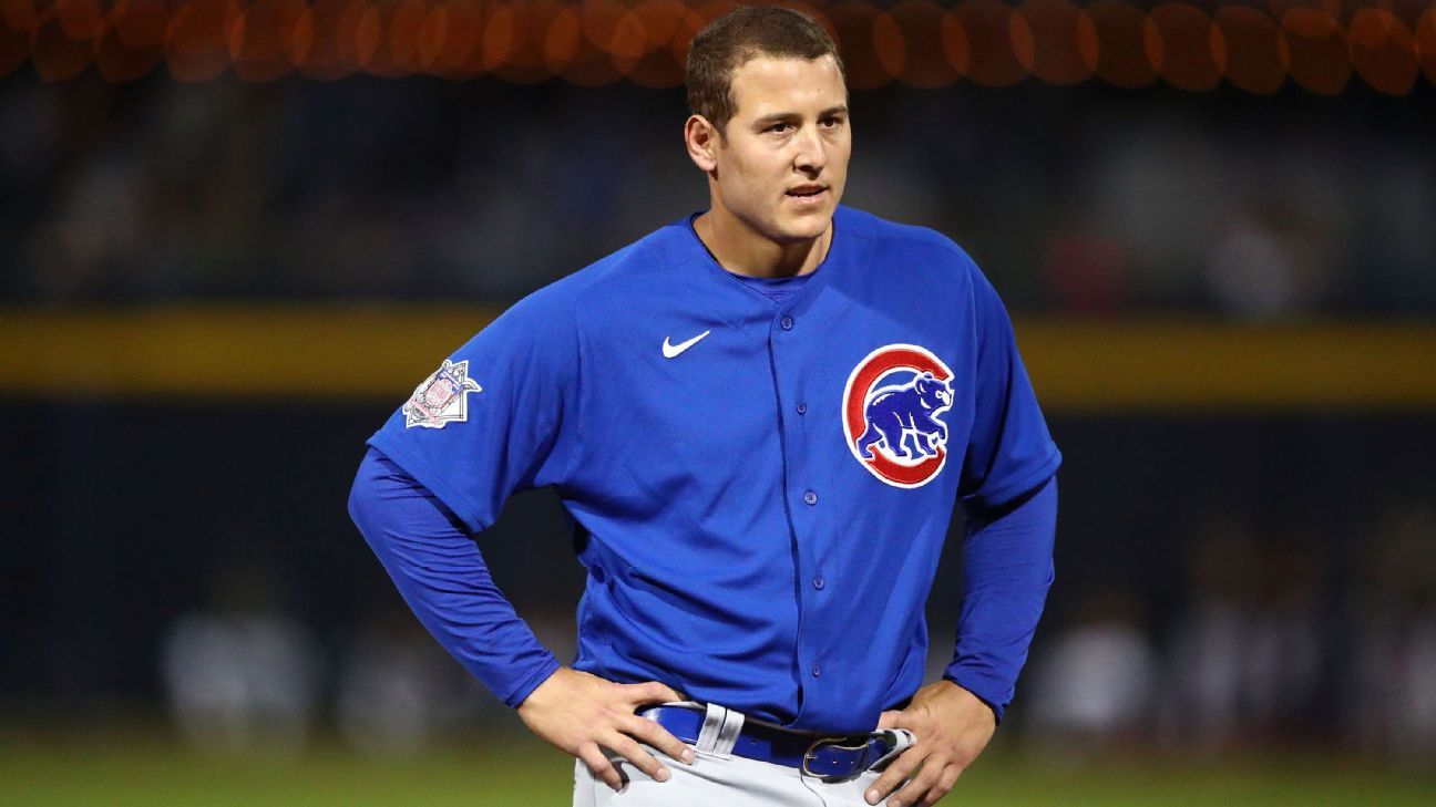 'We have to stay connected': Anthony Rizzo on missing Opening Day