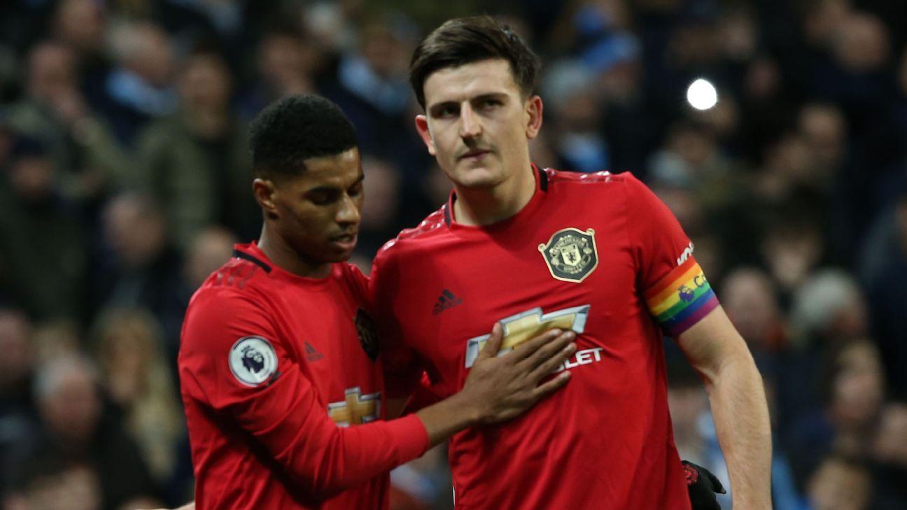 Los fanáticos no perdonan a Harry Maguire del Manchester United y le dicen