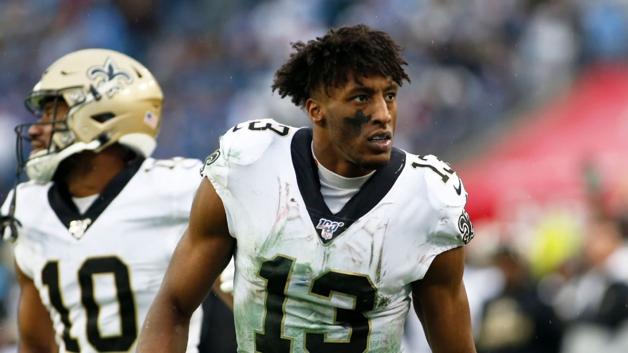 Sources — Saints expect WR Michael Thomas to miss game vs. Raiders – ESPN