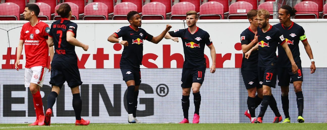 Mainz Vs Rb Leipzig Football Match Summary May 24 2020 Espn