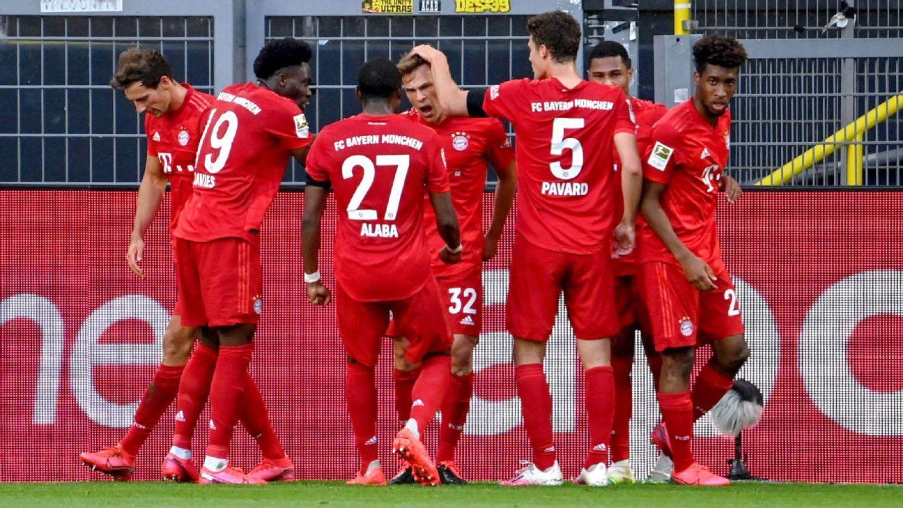 Borussia Dortmund Vs Bayern Munich Football Match Summary May 26 2020 Espn