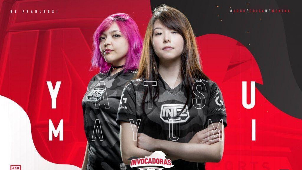 LoL: Mayumi e Yatsu não fizeram parte dos treinos da INTZ em 2020