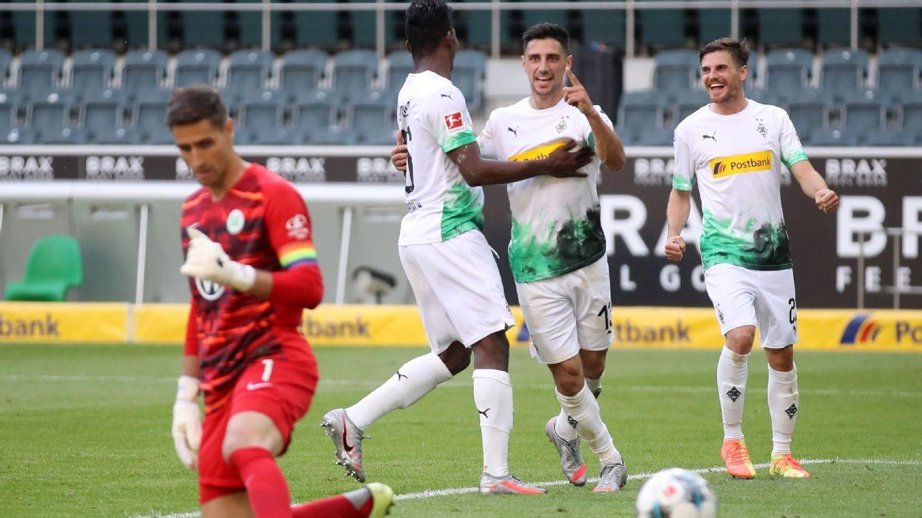 Borussia Mönchengladbach Gegen Vfl Wolfsburg