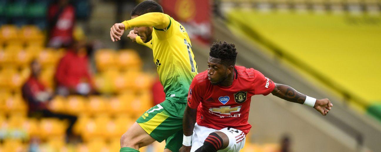 Norwich City vs. Manchester United - Reporte del Partido - 27 junio, 2020 - ESPN