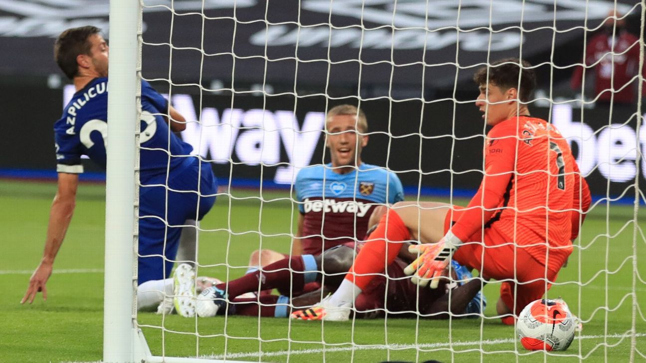 West Ham United vs. Chelsea - Reporte del Partido - 1 julio, 2020 - ESPN
