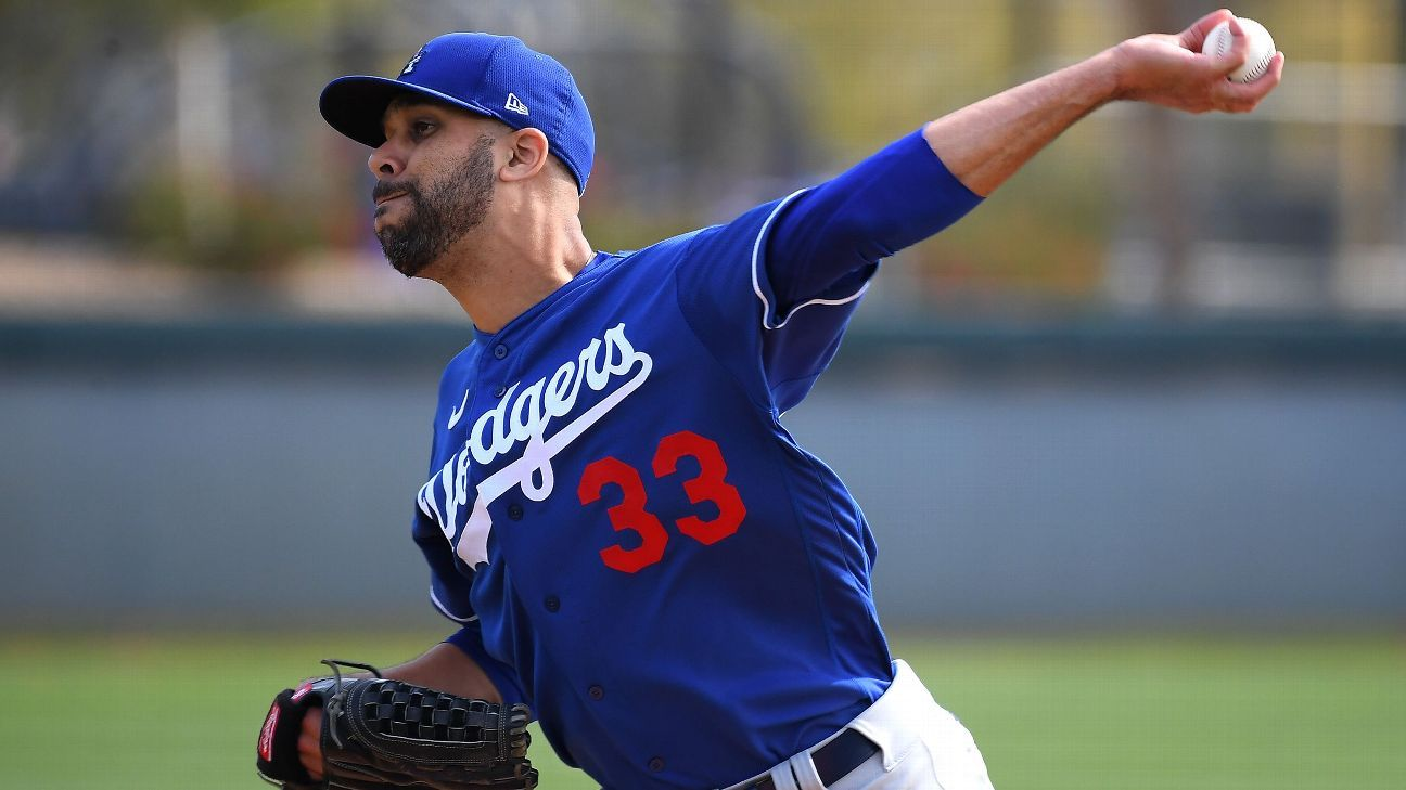 Los Angeles Dodgers' David Price open to any role in 2021 -- Whatever makes us better - ESPN