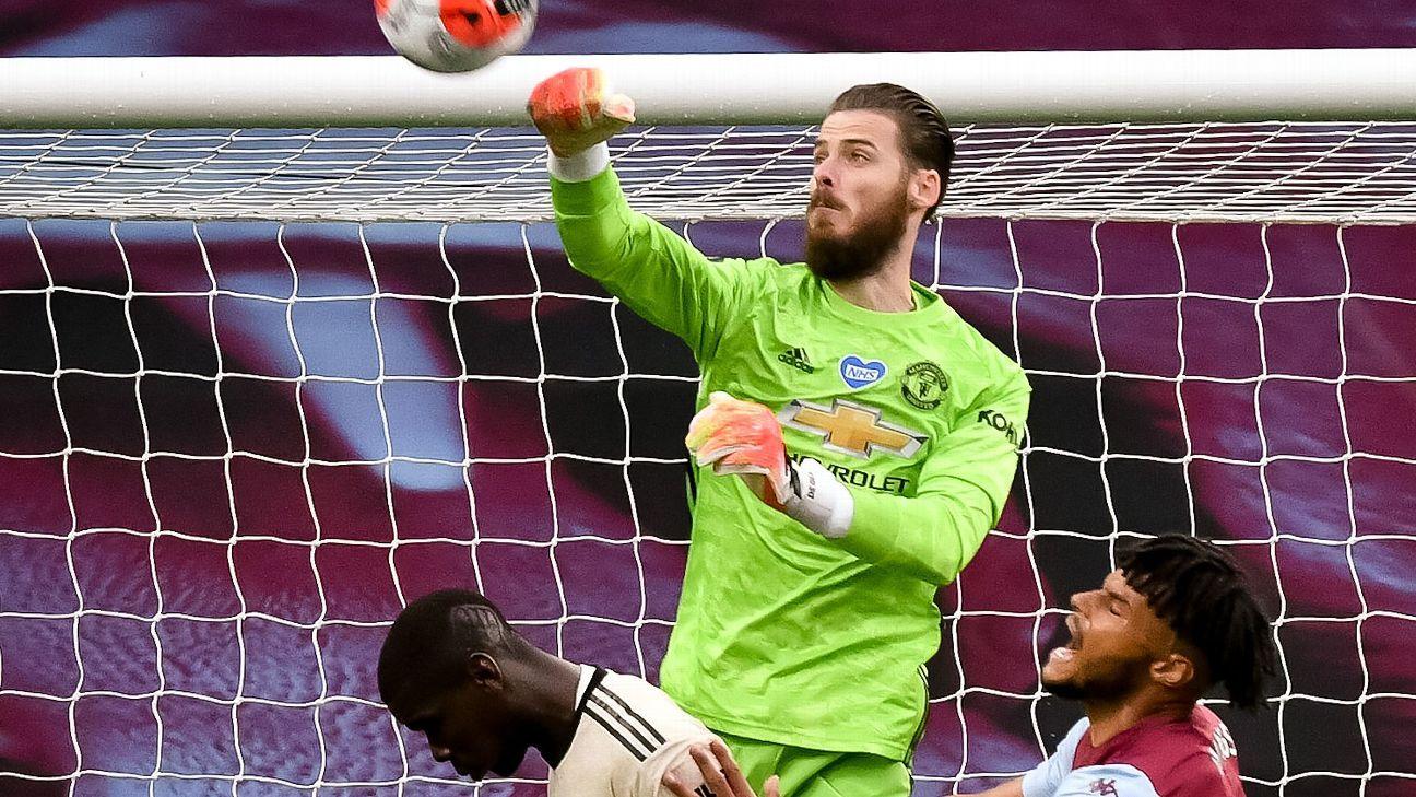 De Gea es el jugador extranjero con más partidos en el Manchester United