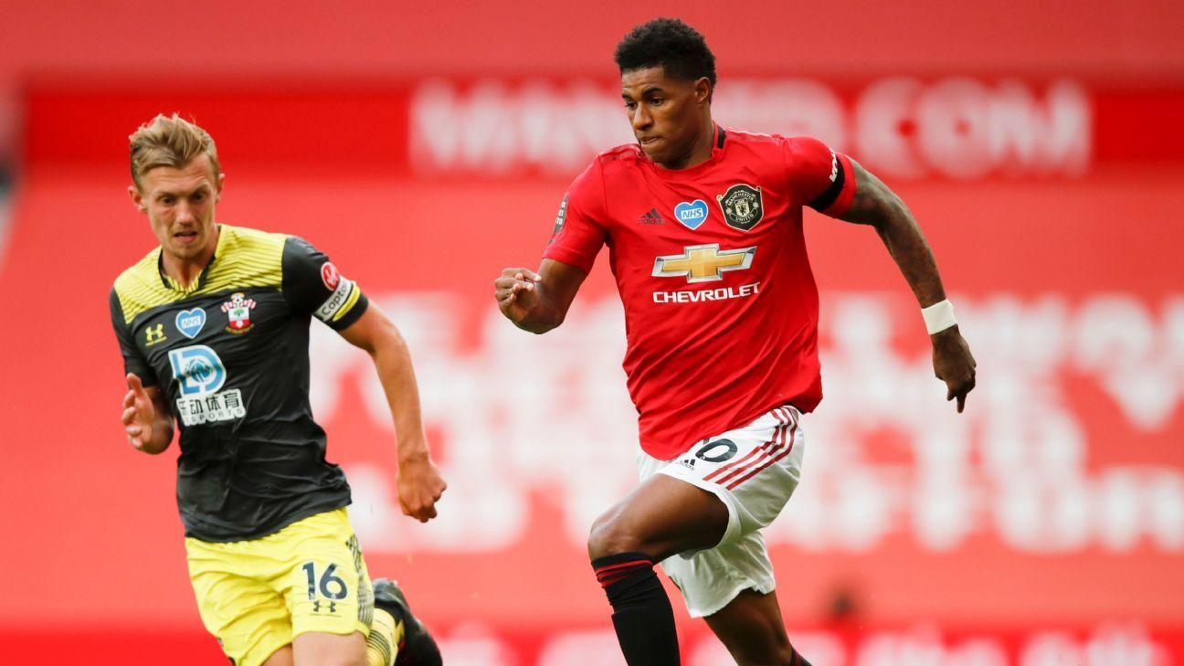 Manchester United vs. Southampton - Reporte del Partido - 13 julio, 2020 - ESPN