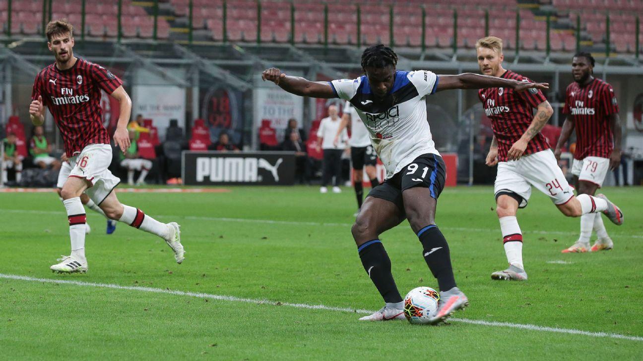 AC Milan vs. Atalanta - Reporte del Partido - 24 julio, 2020 - ESPN