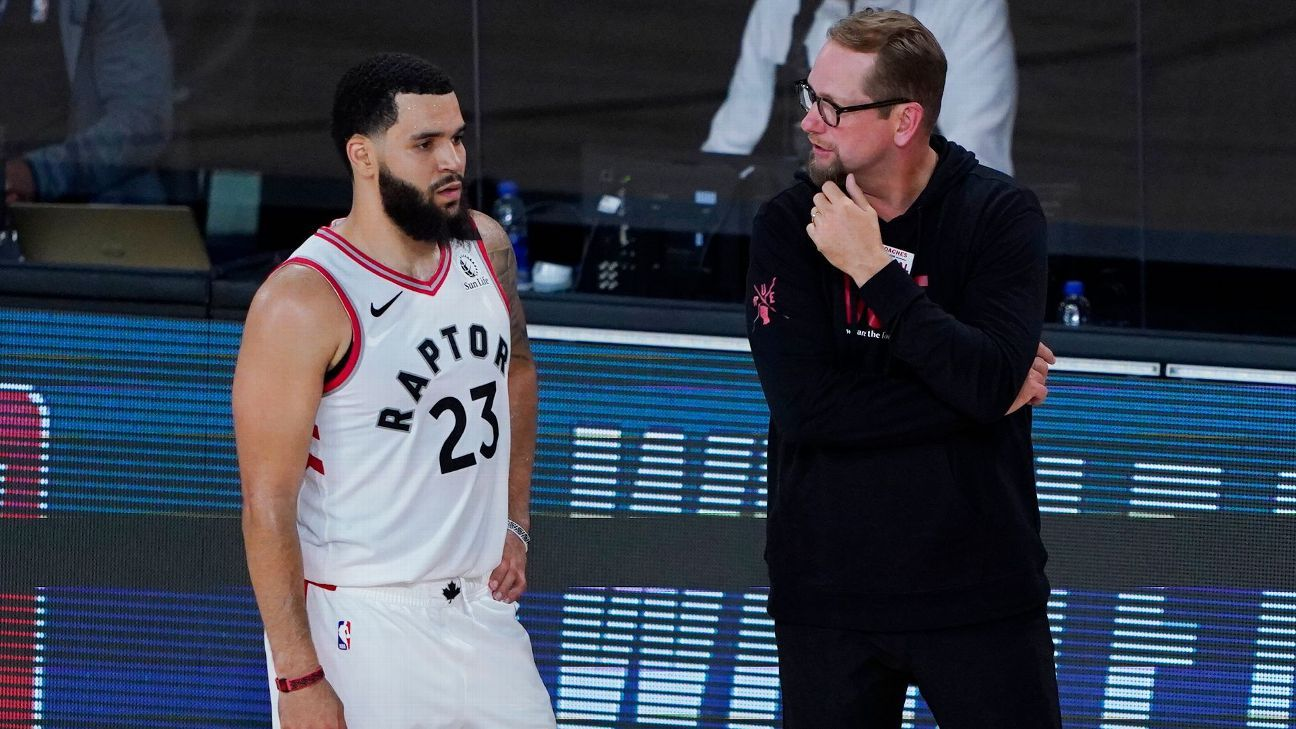 Nurse: Champion Raptors haven't reached ceiling