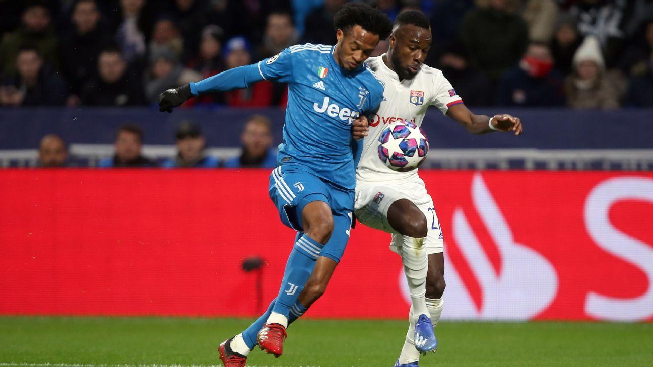 El sueño de Champions sigue vivo: Cuadrado y Juventus buscan la remontada ante Lyon