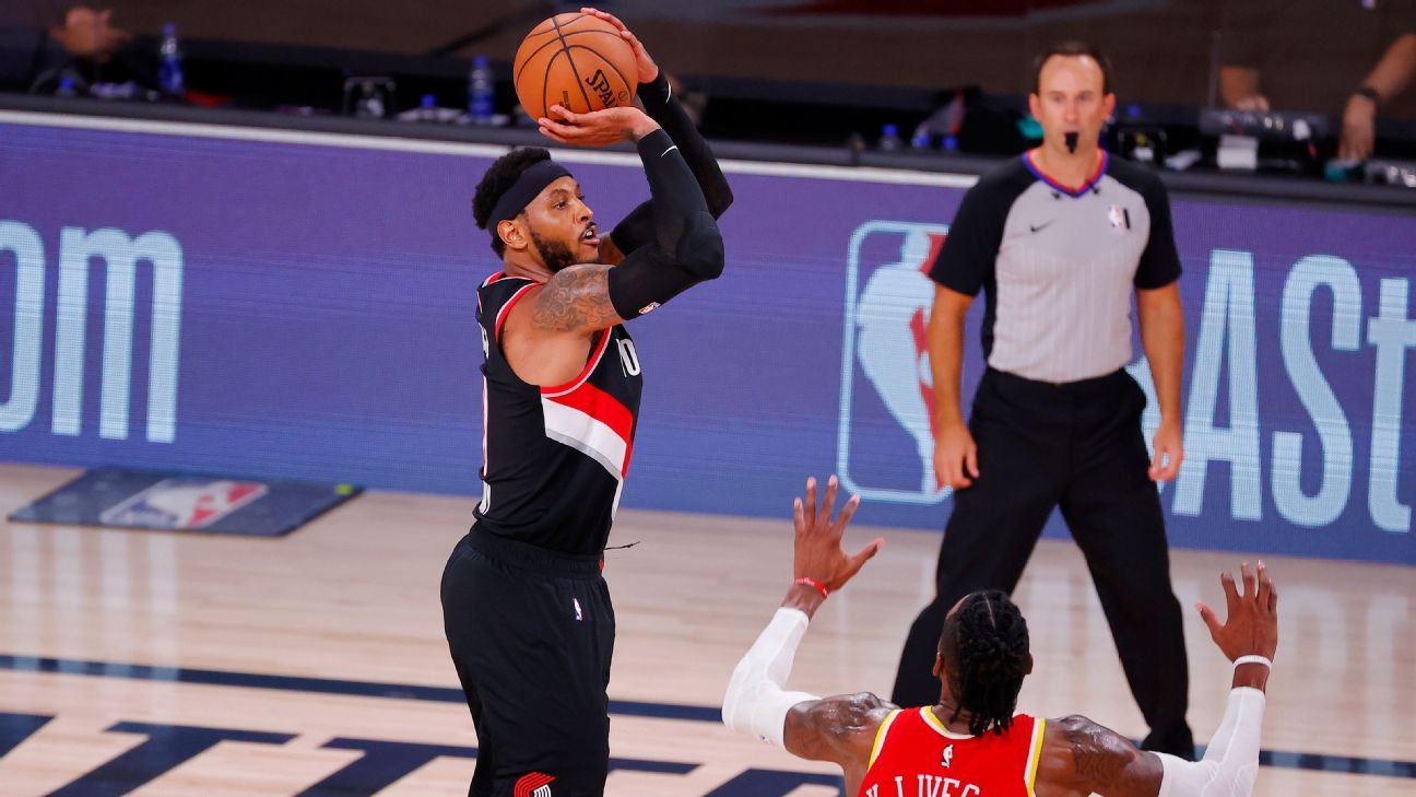 Lillard: 'Disrespectful' to undervalue HOFer Melo
