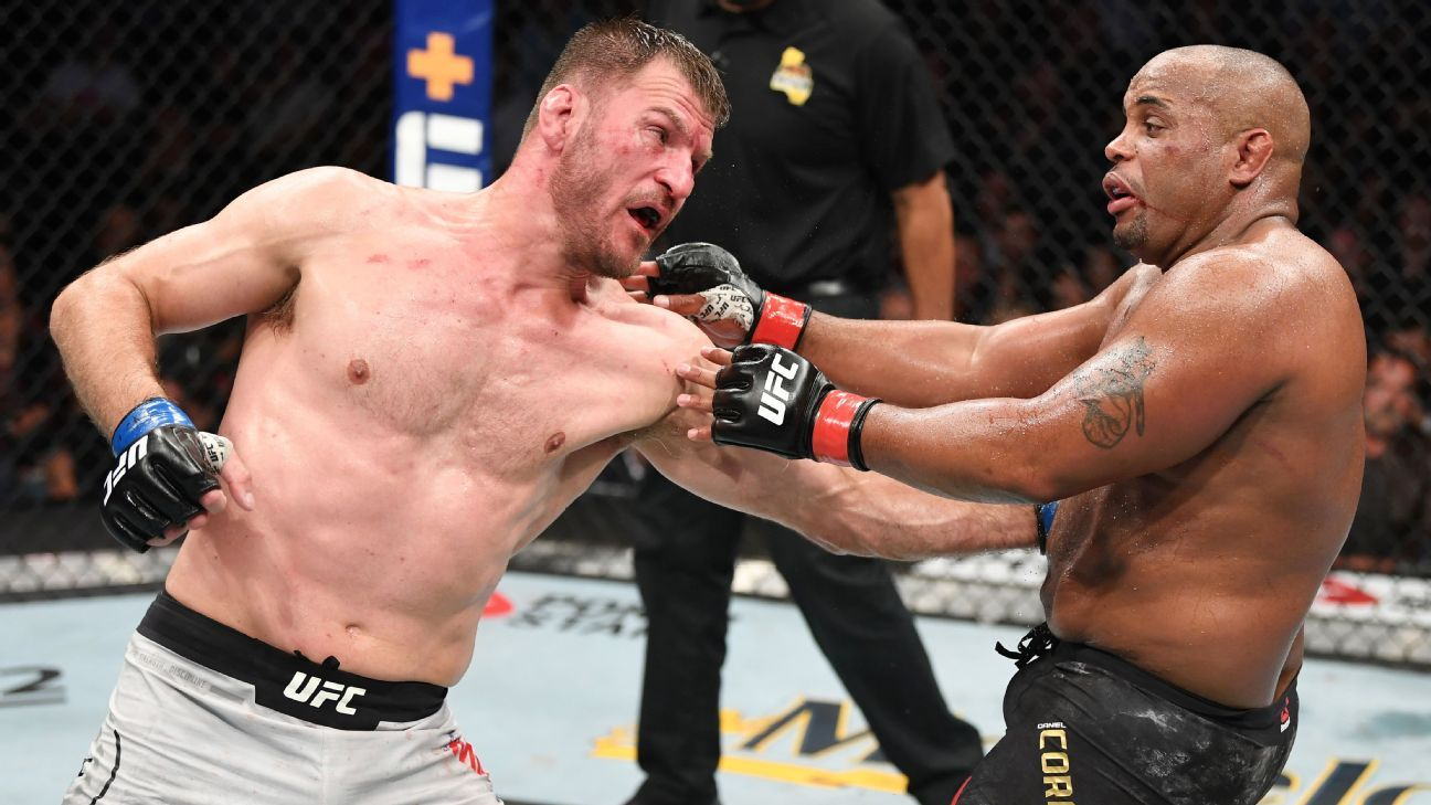 UFC 252 — Inside the moment Stipe Miocic discovered how to beat Daniel Cormier – ESPN