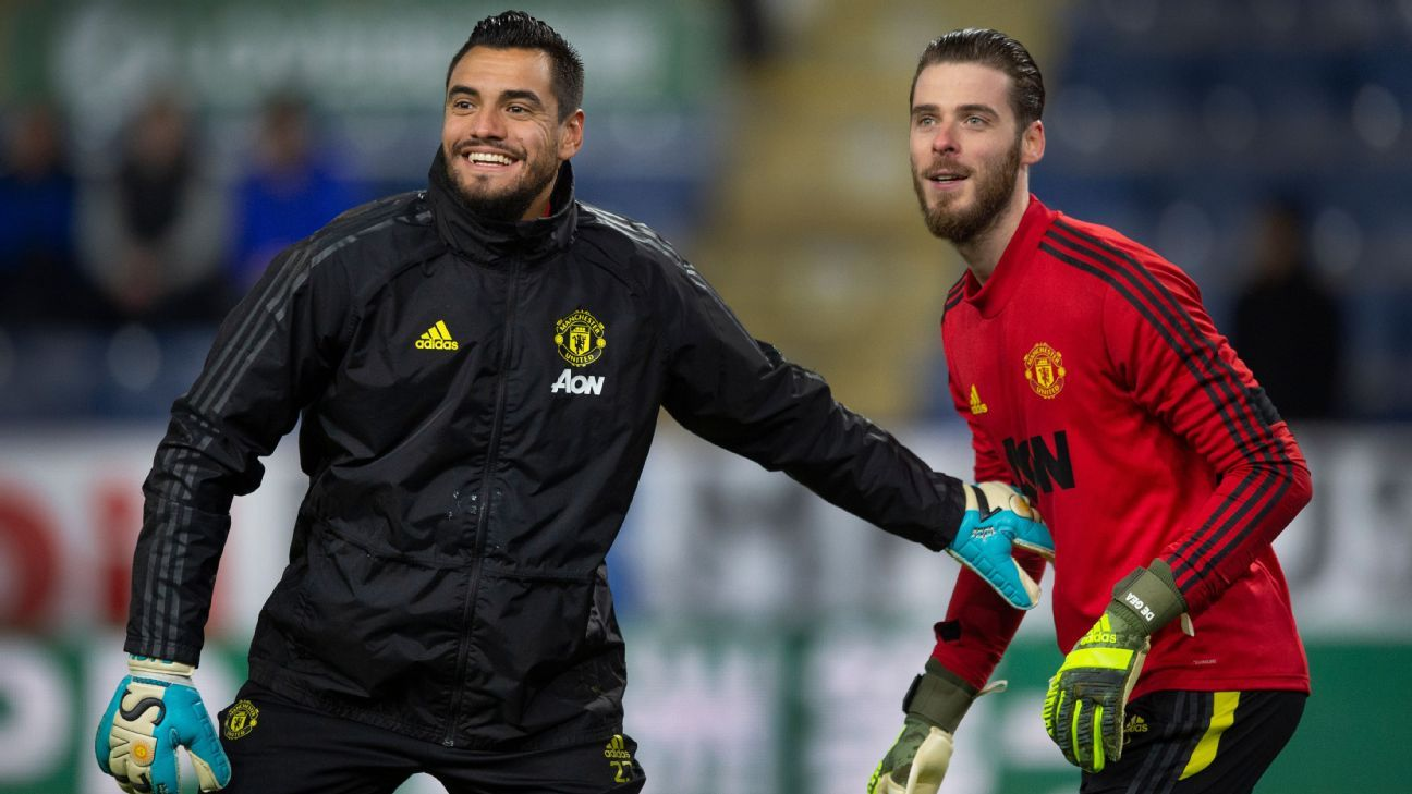 Man United can't keep De Gea Romero Henderson together - Solskjaer - ESPN