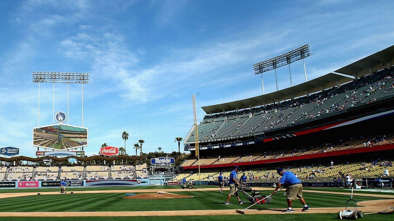 Dodgers team with LeBron for stadium poll site