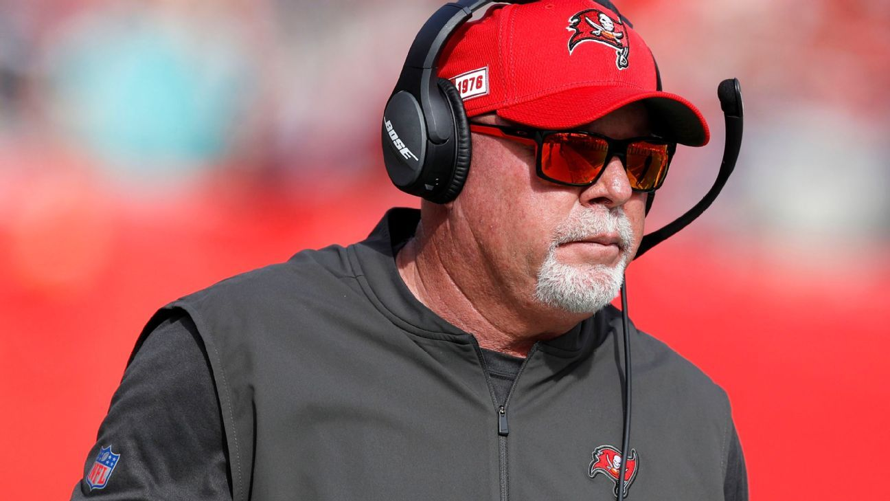 Tampa Bay Buccaneers coach Bruce Arians says 'entire organization' is vaccinated against COVID-19