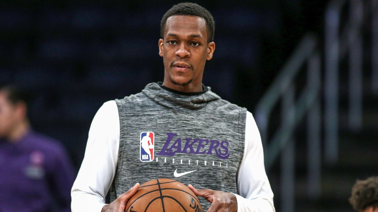 Lakers' Rajon Rondo upgraded to questionable for Game 2 vs. Trail Blazers – ESPN