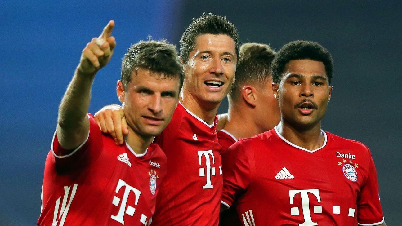 Lyon vs. Bayern Munich - Reporte del Partido - 19 agosto, 2020 - ESPN