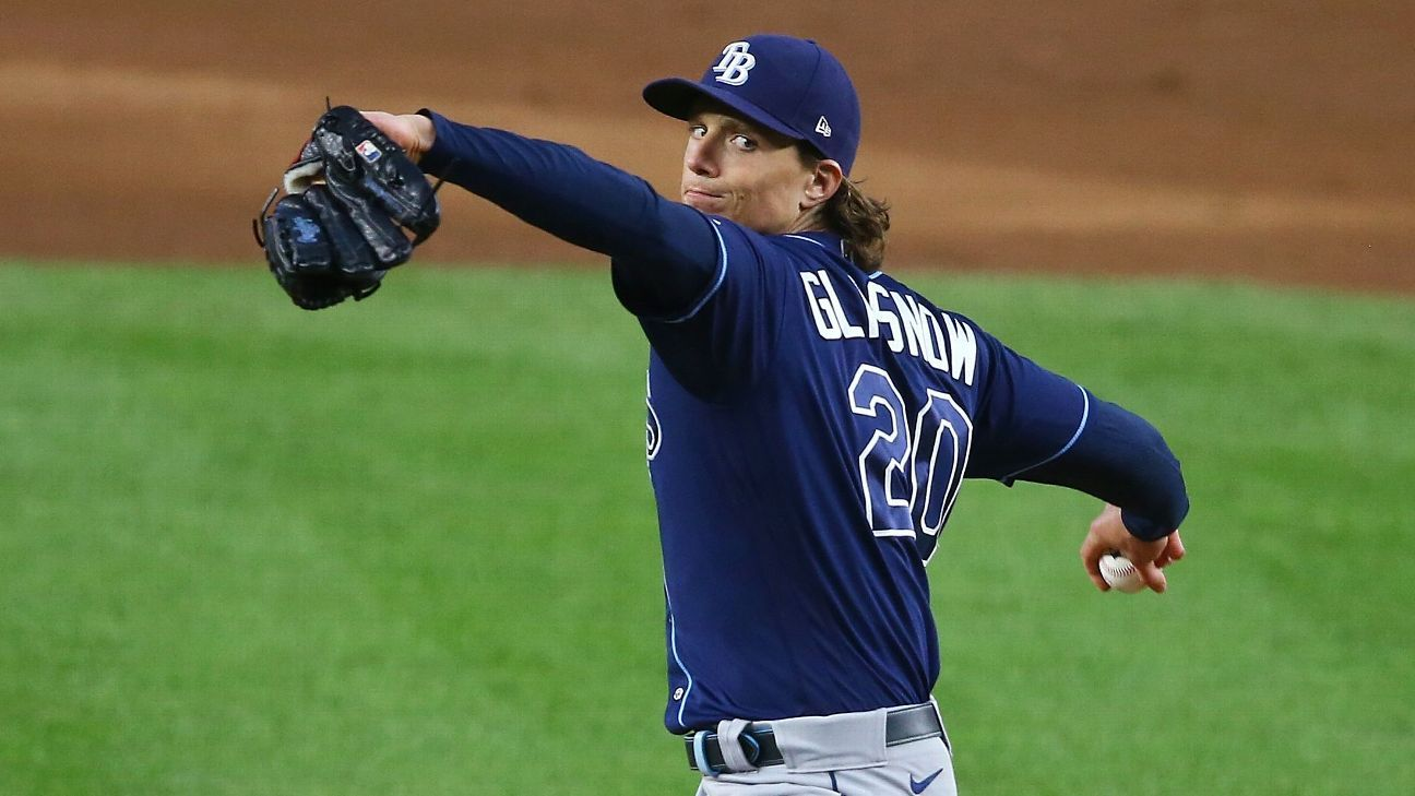 Tampa Bay Rays ace Tyler Glasnow expected to undergo Tommy John surgery, sources say