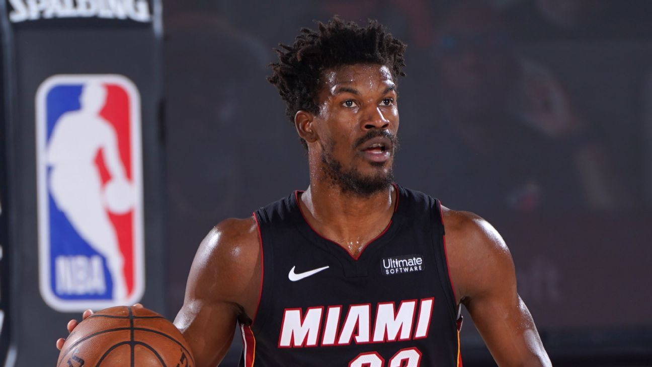 Heat S Jimmy Butler Says Team Relaxed A Little Bit After Bucks Giannis Antetokounmpo Left With Injury