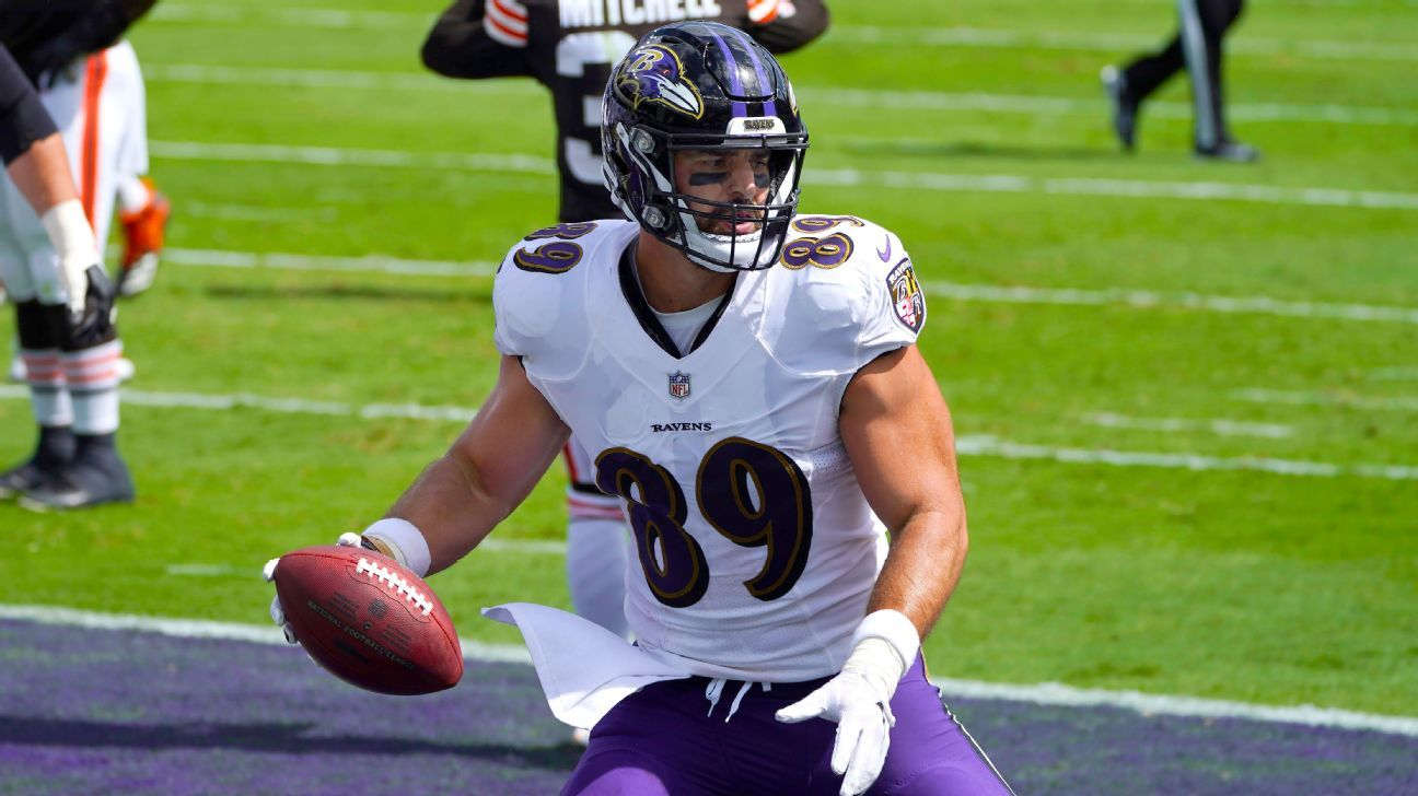 Mark Andrews' 4-year extension with Baltimore Ravens worth $56 million
