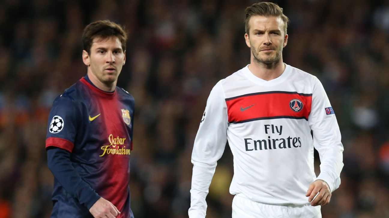 From David Beckham To Cristiano Ronaldo And Lionel Messi How The Forbes Rich List Has Evolved