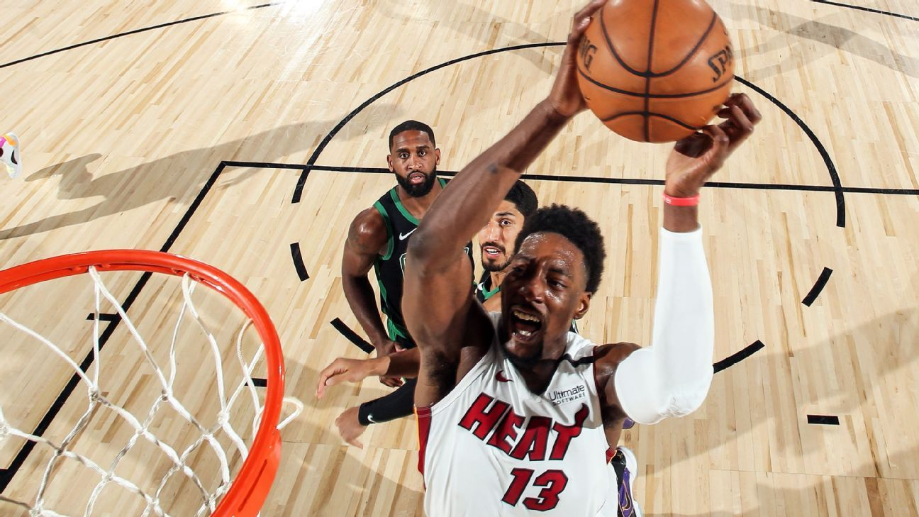 Miami Heat's Bam Adebayo upgraded to questionable for Game 4 of NBA Finals – ESPN