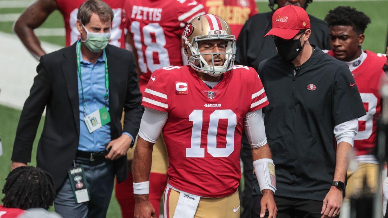 Jimmy Garoppolo San Francisco 49ers American Football Limited NFL Jersey