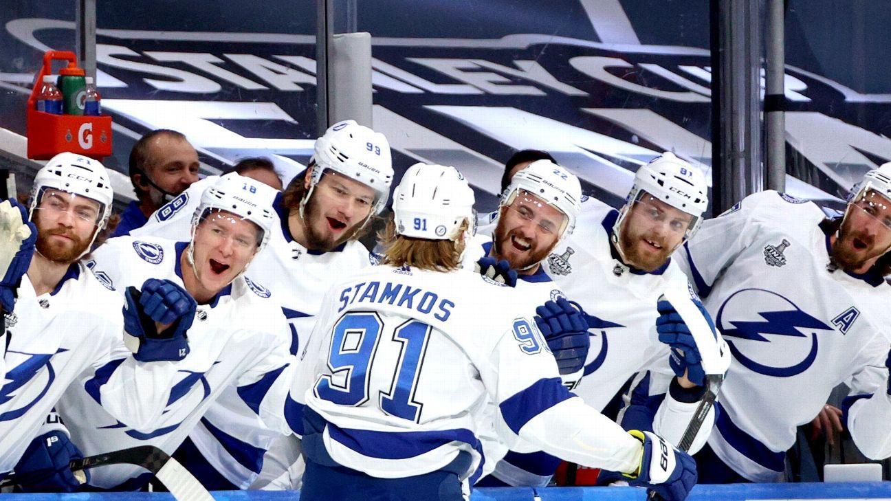 Stanley Cup Final Game 3 takeaways – Steven Stamkos return keys lopsided Tampa Bay Lightning victory – ESPN