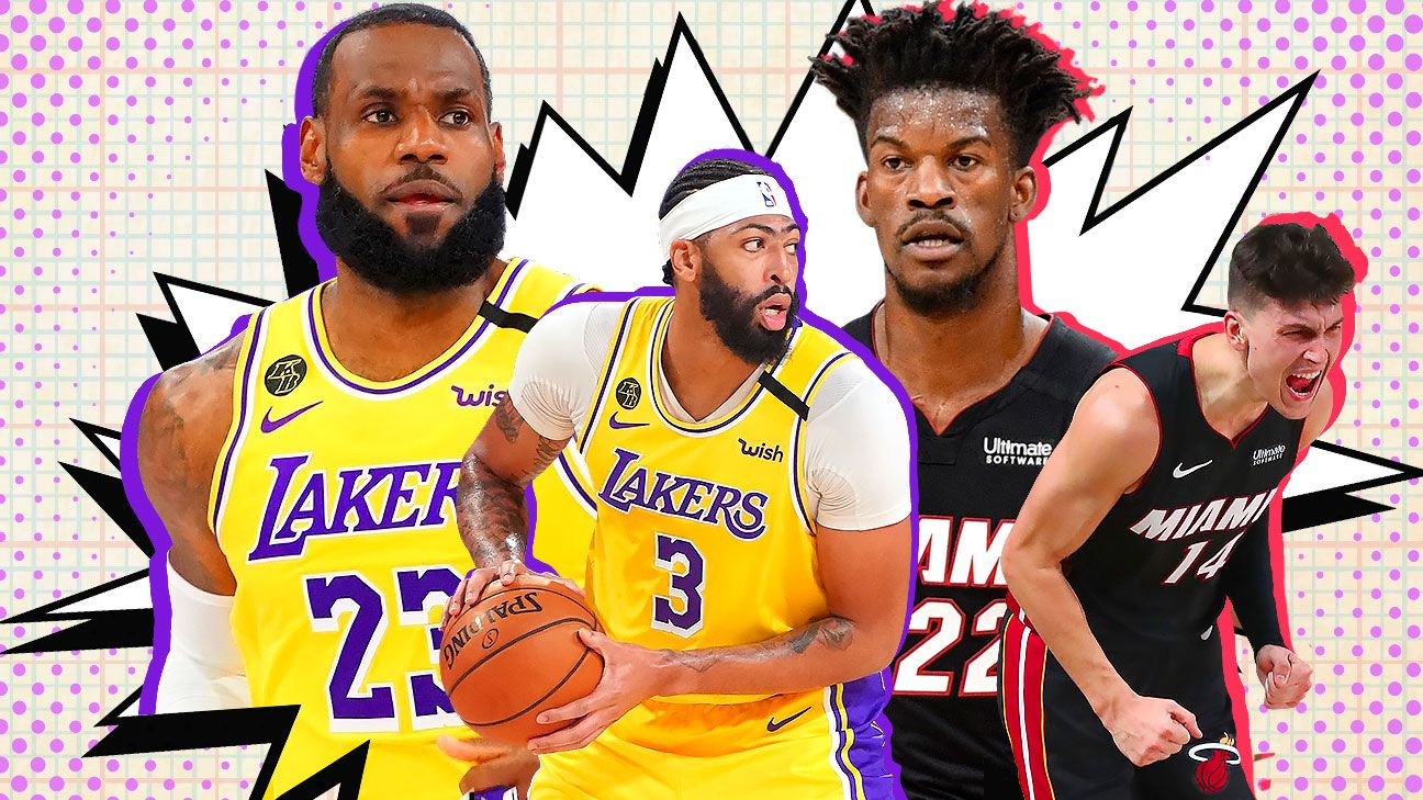 NBA Finals: Storylines and stats that matter ahead of Lakers-Heat