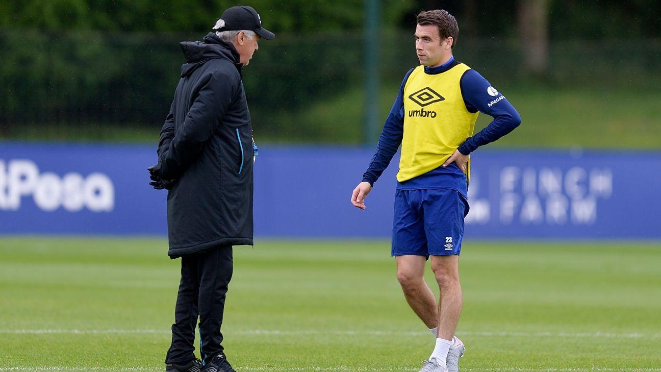 Everton boss Ancelotti: Coleman like captains Maldini, Terry, Ramos - ESPN