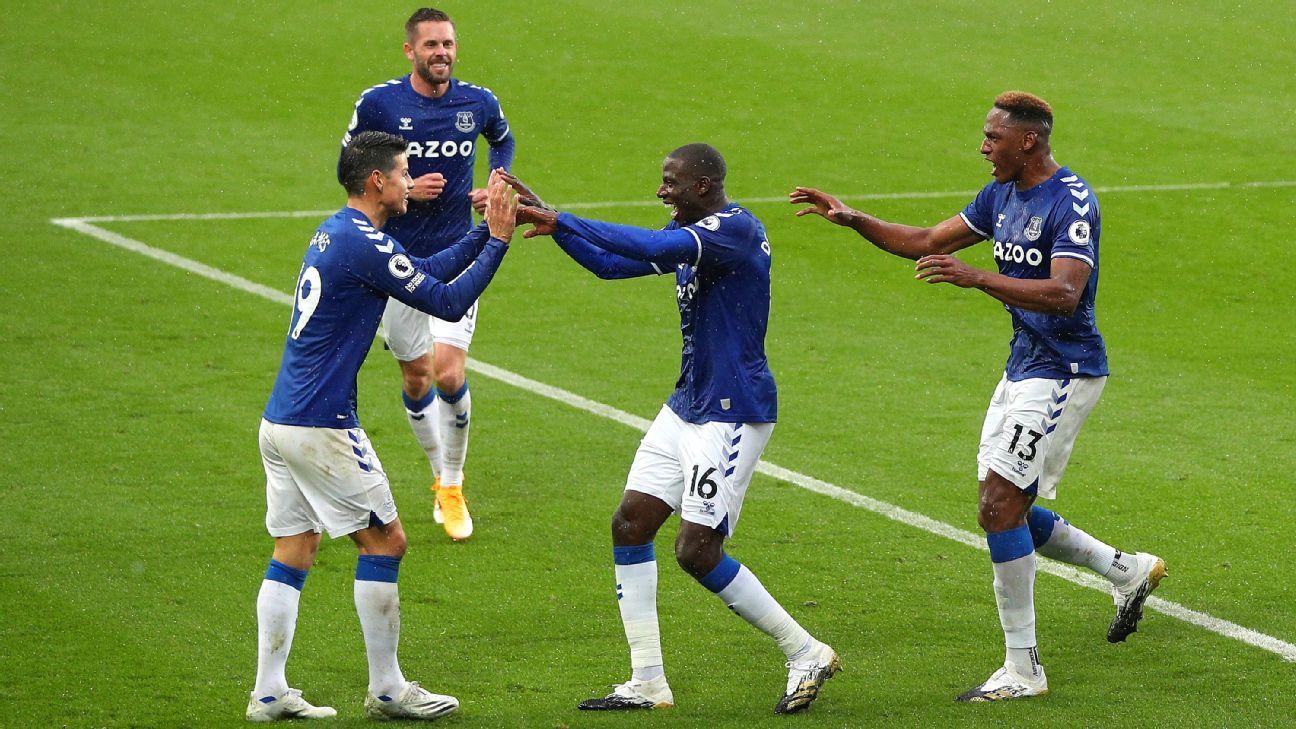 Everton comenzó con un buen triunfo su dura seguidilla de partidos