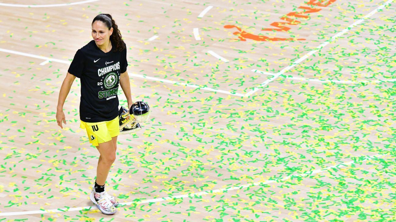 WNBA Finals – Ageless Seattle star Sue Bird is the consummate champion – ESPN