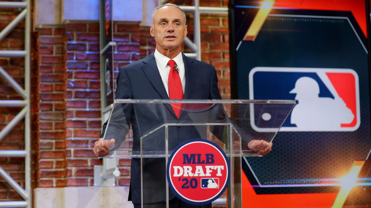 2021 MLB draft order set by 2020 standings