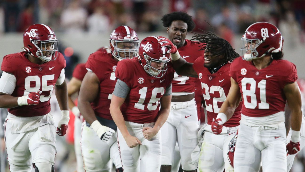Alabama Remains The Sec King Trevor Lawrence Remains Unstoppable And More From College Football S Week 7